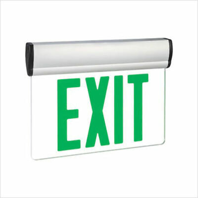 Exitronix S900-SR Series Swivel LED Exit Sign GREEN New in Box