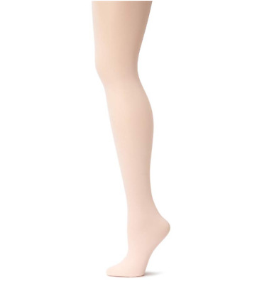 8-10 Capezio 140 Women/'s Size Medium White Hold and Stretch Footless Tights