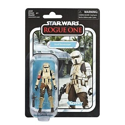 Star Wars The Vintage Collection Carded Scarif Stormtrooper (Rogue One)