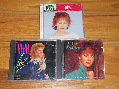 Reba McEntire  CD it's your call / live / the best of reba: christmas collection