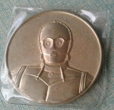 2005 California Lottery STAR WARS C-3PO COMMEMORATIVE Coin 7-11 ROTS Promo