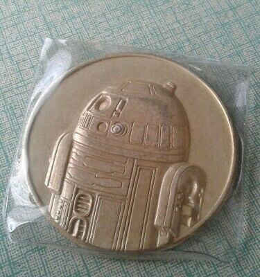 2005 California Lottery STAR WARS R2-D2 COMMEMORATIVE Coin 7-11 ROTS Promo