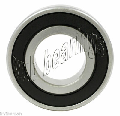 12 Ball Bearings 6200-2RS 10x30 10mm Diameter 6200RS RS