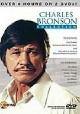 Charles Bronson Collection 2-Disc Set DVD VIDEO MOVIE 8 hours Cold Sweat Lola +