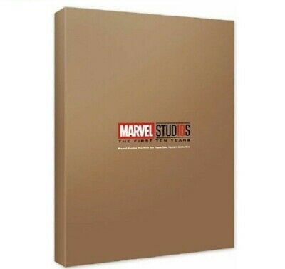 MCU Studios 10th Years Anniversary Marvel Posters Gold Posters Collection _sg