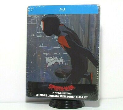 Spider-Man Into The Spider-Verse Blu-Ray Steelbook Exclusive Artwork Import New
