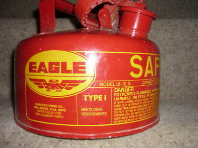 Eagle Brand U.S.A. Safety Fuel Can