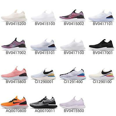 Nike Epic Phantom React FK Flyknit Men Women Slip On Running Shoe Sneaker Pick 1