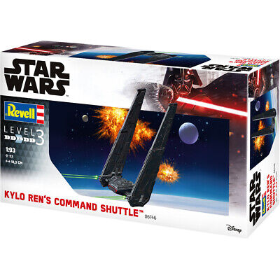 Revell Star Wars Kylo Ren's Command Shuttle Model Kit - Scale 1:93 - 06746
