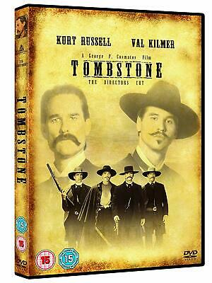 TOMBSTONE (1977) Kurt Russell Val Kilmer DVD Director's Cut Region 4 New/Sealed