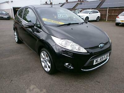 2009 59 Ford Fiesta 1.4TDCi turbo diesel  Zetec 3 door fsh