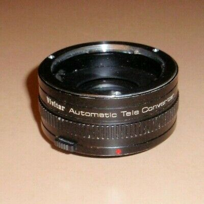 Vivitar Automatic Tele Converter 2X-21 Lens Made in Japan