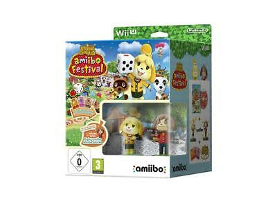 AMiiBO FESTIVAL ANIMAL CROSSING NINTENDO Wii U NEW GAME+FIGURES+CARDS FREE POST