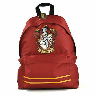 Official Harry Potter Hogwarts Gryffindor Crest School Backpack Rucksack Bag