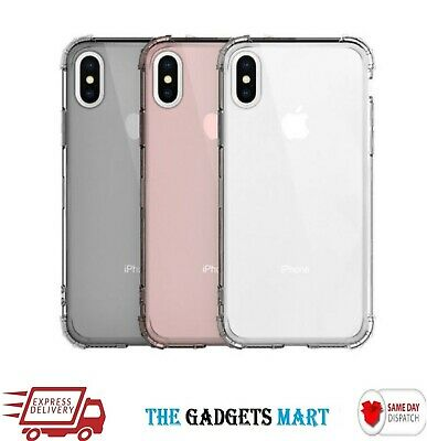 Shockproof Hybrid Silicone Gel Case Cover for Apple iPhone XS Max XR 8 7 6s Plus