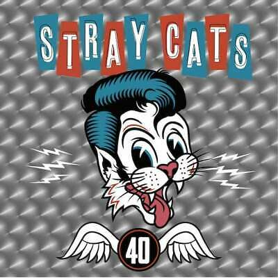 STRAY CATS  40  ( Neues Album 2019 ) ( Digipak )  CD   NEU & OVP  24.05.2019