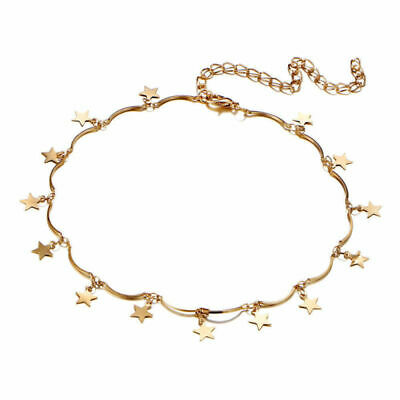 Cute Simple Choker Necklace Tiny Star Chain Women Fashion Jewelry Gift