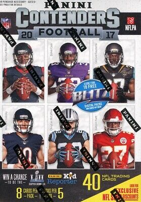 2017 Panini Contenders Football Blaster Box Blowout Cards