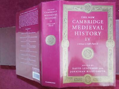 NEW CAMBRIDGE MEDIEVAL HISTORY c.1024- c.1198 by LUSCOMBE/MIDDLE AGES/ RARE 2004