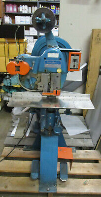 """Interlake Model S3A 1-1/8"""" Stitcher with flat table"""