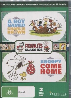 A Boy Named Charlie Brown / Snoopy, Come Home (DVD, 2018, 2-Disc Set)