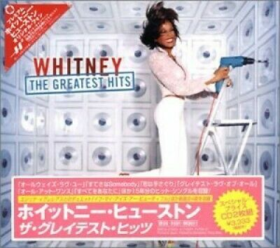 Whitney Houston - Greatest Hits (different Tracks - Japan) CD (2) BMGJ NEW