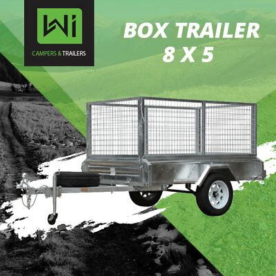 BRAND NEW 8x5 Tough Trailer For Sale & Rental