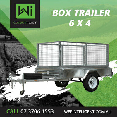WI CAMPERS & TRAILERS 6x4 7x4 7x5 8x5 Box Trailer For Sale & Rent