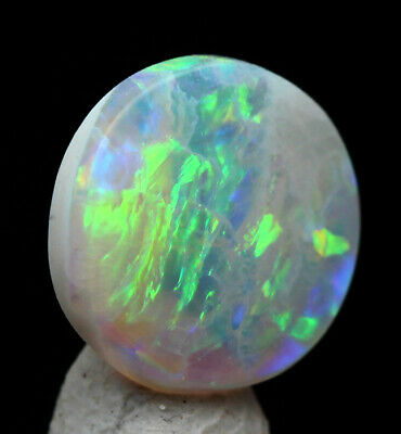 Boulder OPAL Cabochon Gemstone Australia Fire Gem SOLID Matrix Rainbow Natural