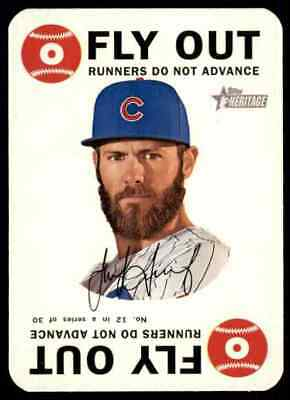 2017 Topps Heritage Topps Game Jake Arrieta #12 Chicago Cubs