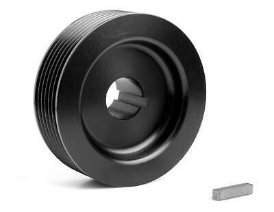 """Weiand 6790 Weiand Supercharger Upper Pulley - 6-Rib, 2.85"""" Diameter"""