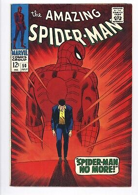 Amazing Spider-Man #50 Vol 1 Very High Grade 1st Appearance of Kingpin