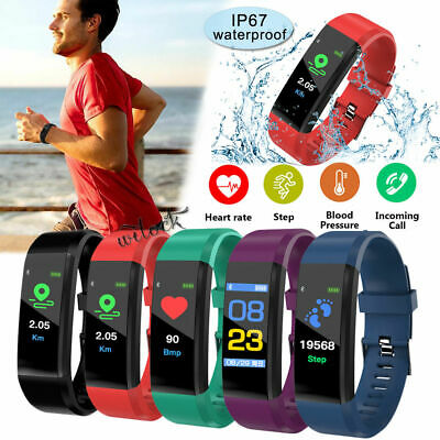 Fitness Smart Watch Activity Tracker Fit-bit Android iOS Heart Rate Unisex Adult