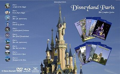 £3 EXTRA OFF- Disneyland Paris The Complete Collection on DVD and Blu-Ray (NEW)