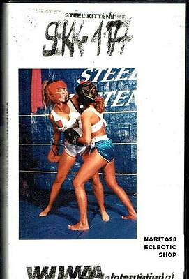 T.N.T. SK17 Two Exciting Boxing Matches Steel Kittens Ultra rare cult VHS + DVDR