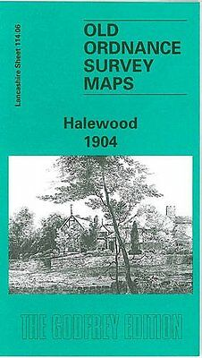 Old Ordnance Survey Map Halewood 1904