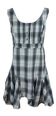 NEW COTTON CHECK SUMMER DRESS-1930's 1940's vintage wedding 12