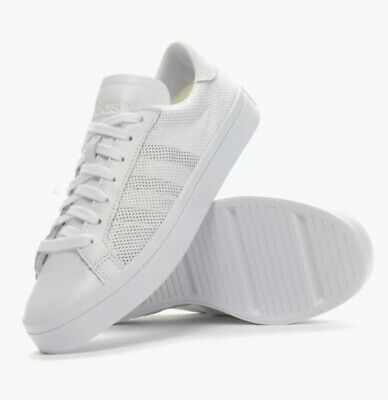 f7834add3d1 ADIDAS MEN'S COURTVANTAGE All White/White Shoes S78776 NEW! - $37.77 ...