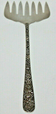 S. Kirk and Sons Sterling Silver Repousse SARDINE SERVING FORK