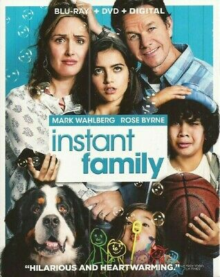 Blu-Ray Instant Family (Blu-Ray/DVD) NEW Mark Wahlberg, Rose Byrne