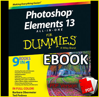 Photoshop Elements 13 All-In-One for Dummies 9in1 (ebook_pdf)