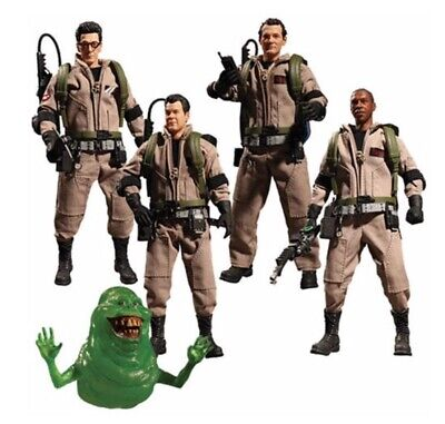 WC76435: Mezco One:12 Collective Ghostbusters Deluxe Boxed Figure Set