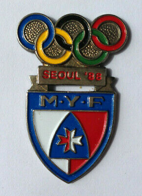 Pin's pin JEUX OLYMPIQUES SEOUL 1988 - M.Y.F  (ref H4)