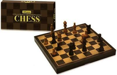 Intex Board Game Premium Wooden Chess Box MINT