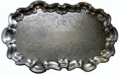 Silverplate Ranleigh Serving Tray Platter Plate Large 54 x 33.5 cm
