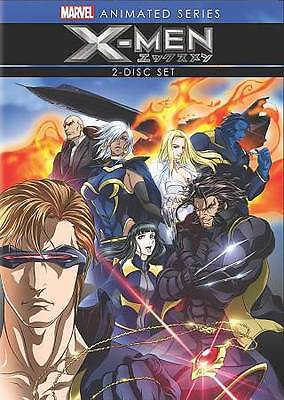 Marvel: X-Men 2 Disc, Animated DVD **DISC AND COVER ART ** LIKE NEW - NO CASE –