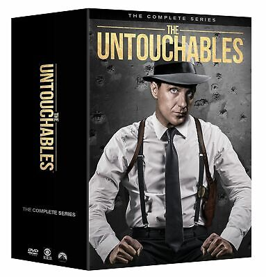 The UNTOUCHABLES: The Complete Series Season 1-4 (DVD, 2018, 31-Disc Box Set)NEW