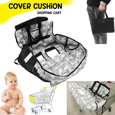 Baby Shopping Cart Cushion Trolley Seat Cover Travel Child High Chair Protector