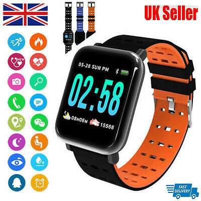 A6 Sports Fitness Waterproof Activity Tracker Smart Watch IP67For Fit bit style