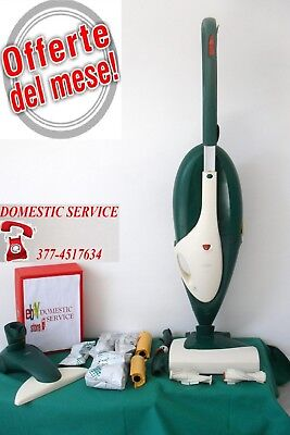 Vorwerk Folletto Vk 135 + Battitore Eb 351 Completo Garantito No 150 200 220